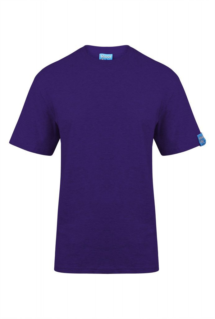 1. HOODIFY HEAVYWEIGHT 100 PERCENT COTTON RINGSPUN T SHIRT DETAILS FRONT IMG 8659 PURPLE