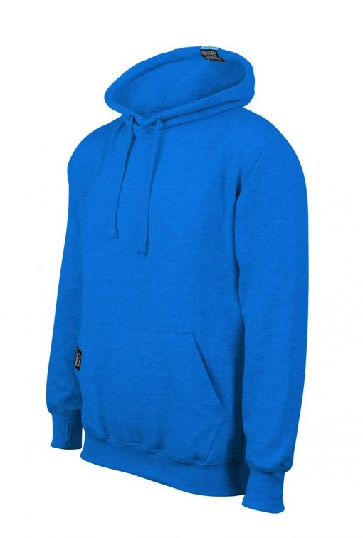 2. HOODIFY EARBUD CUSTOM MADE CUSTOM PRINTED HOODIE SMARTPHONE IPOD POCKET HOODIE 45 DEGREES ELECTRIC BLUE