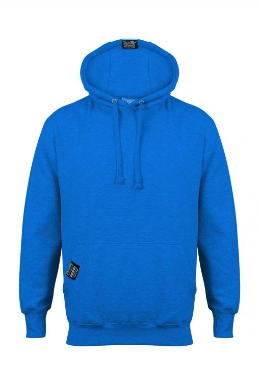 1. HOODIFY EARBUD CUSTOM MADE CUSTOM PRINTED HOODIE SMARTPHONE IPOD POCKET HOODIE FRONT ELECTRIC BLUE