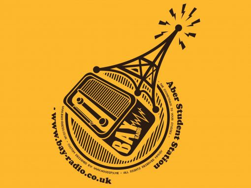 "University of Aberystwyth – ""Aber Radio"" – Custom Designed Hoodies"