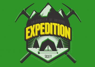 "University of Bristol – ""Expedition Society"" – Custom Designed Hoodies"