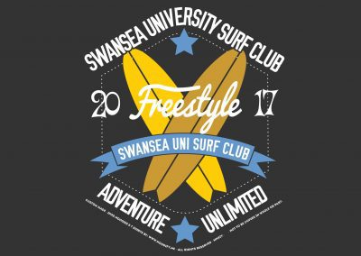 University of Swansea – Surf Society – Custom Designed Hoodies