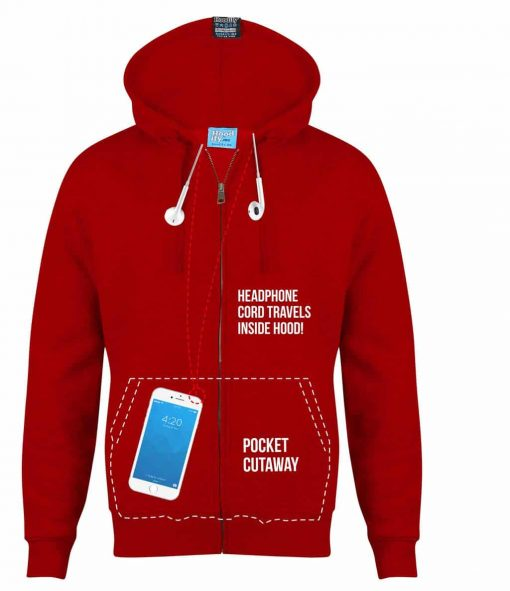 3. ZIP-HOODIE HIDDEN INNER CORD LOOP WITH INTERNAL CORD EARPHONE FEED SOCIETY SOC TEAM HOODIES ZIP HOODIES BY HOODIFY.ME WITH IPHONE SMARTPHONE POCKET CORD RE-ENTERS INSIDE SECRET POCKET HOODIE WH copy