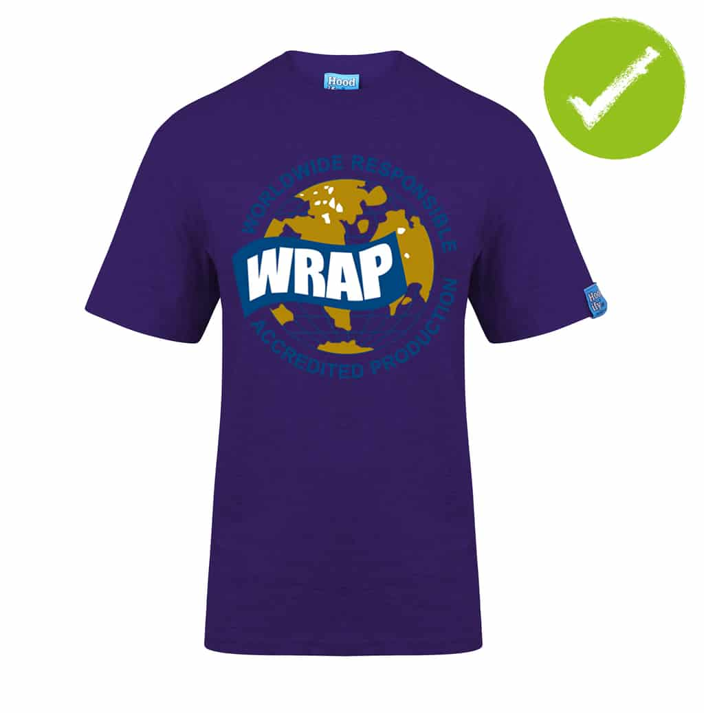 4.2. HOODIFY.ME FAIRTRADE GARMENTS - BRANDED WRAP WORLDWIDE RESPONSIBLE ACCREDITED PRODUCTION - T-SHIRT