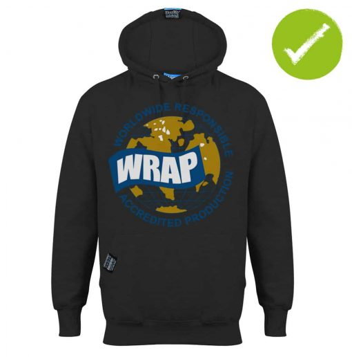4.6. HOODIFY.ME FAIRTRADE GARMENTS - BRANDED WRAP WORLDWIDE RESPONSIBLE ACCREDITED PRODUCTION - HOODIE