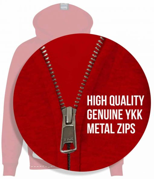 8. HIGH QUALITY GENUNIE YKK METAL ZIP HOODIE WITH KISSTOUCH COVERED METAL COVERED ZIP THAT COVERS AND PROTECTS FOR SCREEN PRINT FAIRTRADE CUSTOM MADE UNIVERSITY UNI SOCIETY SOC TEAM SCREEN PRINTED copy