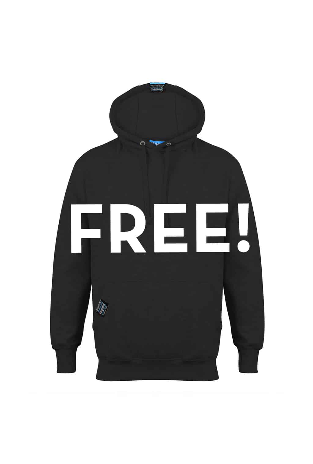 HOODIFY.ME ABOUT US - FREE WITH EVERY ORDER - FREE HOODIE