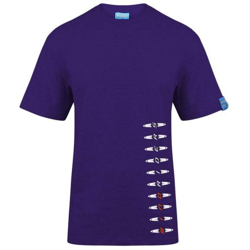 WINDRIDERS - T-SHIRT - (FRONT) - PURPLE - HOODIFY.ME - HEAVYWEIGHT TSHIRT RINGSPUN SUPASOFT SUPER SOFT COTTON STAYTIGHT NECK TUFFNECK SEAM FAIRTRADE T-SHIRT